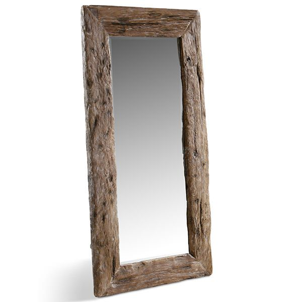 25 best ideas about miroir en bois on pinterest miroir Miroir mural grande dimension