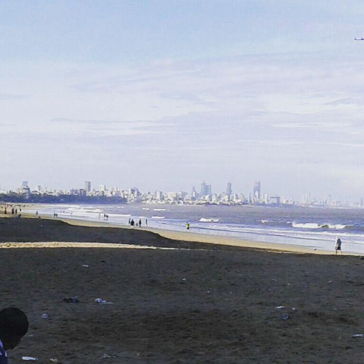 Mumbai skyline...