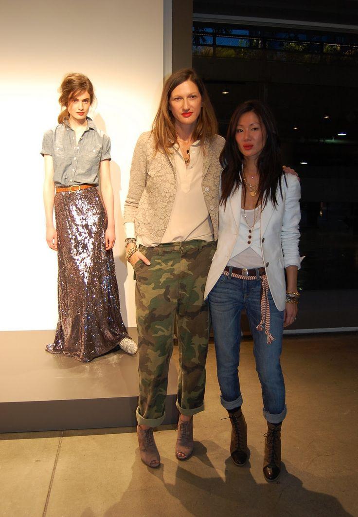 Jenna Lyons & Marissa Webb....more of my favourite camo with sparkle...