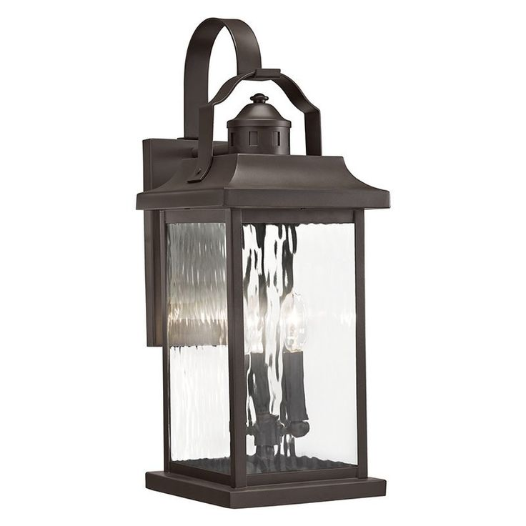 "$89.10 ( 19.37""H) Kichler Lighting Linford 19.37-in H Olde Bronze Outdoor Wall Light"