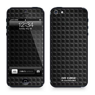 """Codice Da ™ Pelle per iPhone 4/4S: """"strisce gialle e acciaio"""" (Astratto Serie) – EUR € 9.19"""