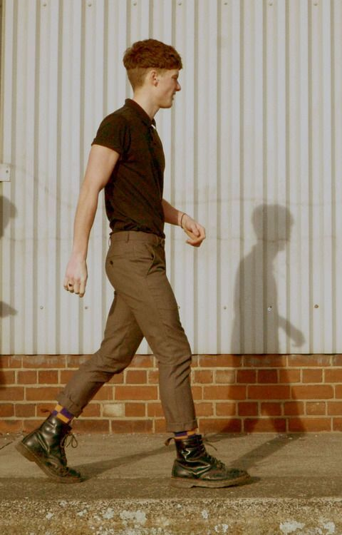 boots, high-water trousers, tight top, sick hair http://asos.do/D6FQDK