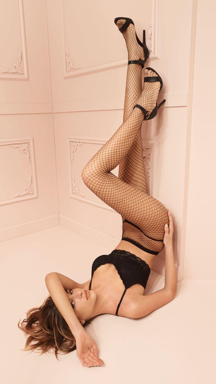 TRASPARENZE RITA COLLANT Tights fishnet, sheer body, seamless, invisible toe