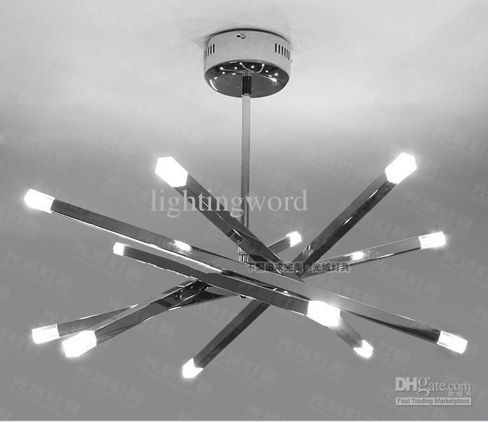 Modern style Horizon Star Ceiling Light For Bedroom Office Dining-room  Living room Chandeliers Bar - Black Living Room Ceiling Lights Winda 7 Furniture
