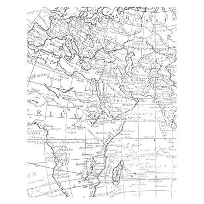 World Map Clear-Mount Background Stamp Set by Stampin' Up!