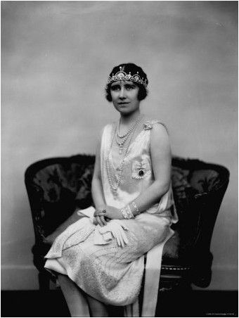 Elizabeth Bowes Lyon, the Duchess of York and Future Queen of England