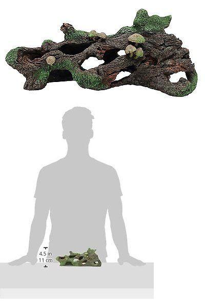 Animals Fish And Aquariums: Marina Hollow Log With Moss Cover Mushroom Betta Aquarium Decor -> BUY IT NOW ONLY: $34.48 on eBay!