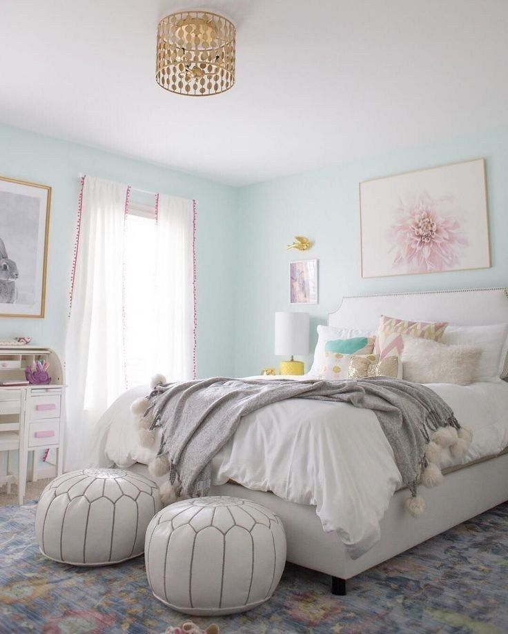 Teenage Rooms: 55 Pretty Pink Bedroom Ideas For Your Lovely Daughter 15