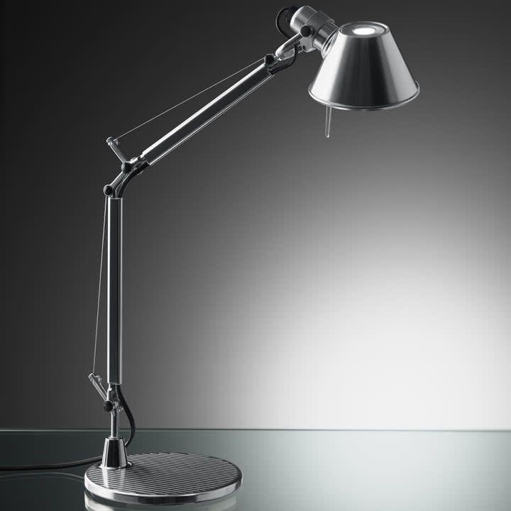 Artemide Tolomeo Micro Lampe de table, Aluminium