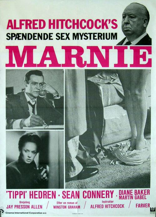 Marnie - Alfred Hitchcock - movie poster