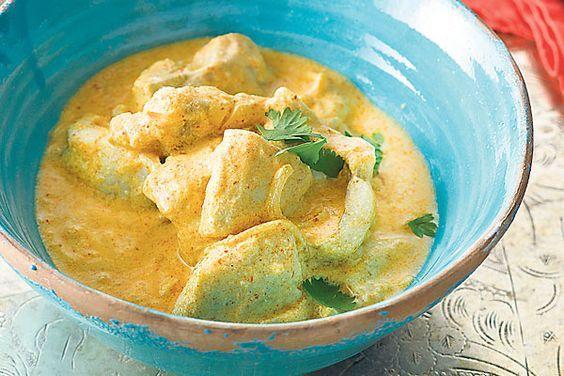 Curry de poisson - Coopération - Le magazine hebdomadaire de Coop