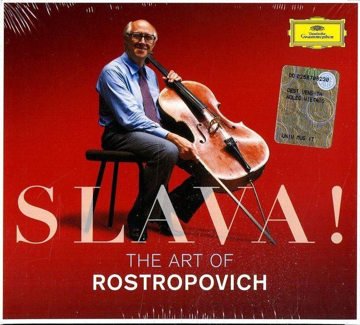 Rostropovich Mstislav - The Art Of.. Slava ! - Box 3   CDClicca qui per acquistarlo sul nostro store http://ebay.eu/2jIr9qH