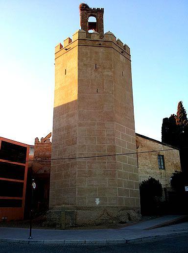 Torre de Espantaperros de la alcazaba de Badajoz