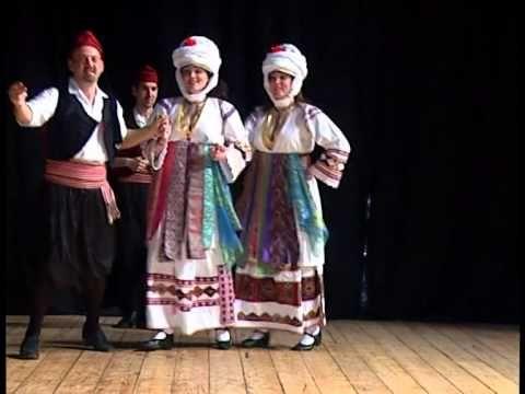 Χοροί από τη Χίο: Πυργούσικος - YouTube