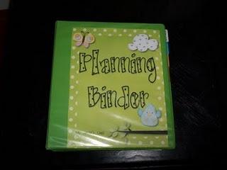 Teacher Planning Binder: 1. Classroom & School Information 2. Calendars 3. My Gradebook 4. My Planbook 5. Meeting Notes