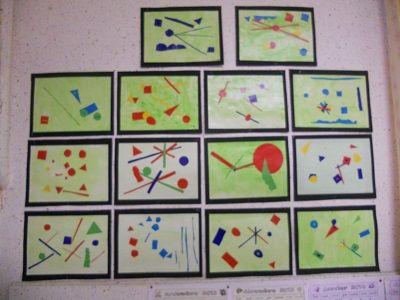 Musette Souricette : Kandinsky - Un espace cosmique - La classe dAmeline