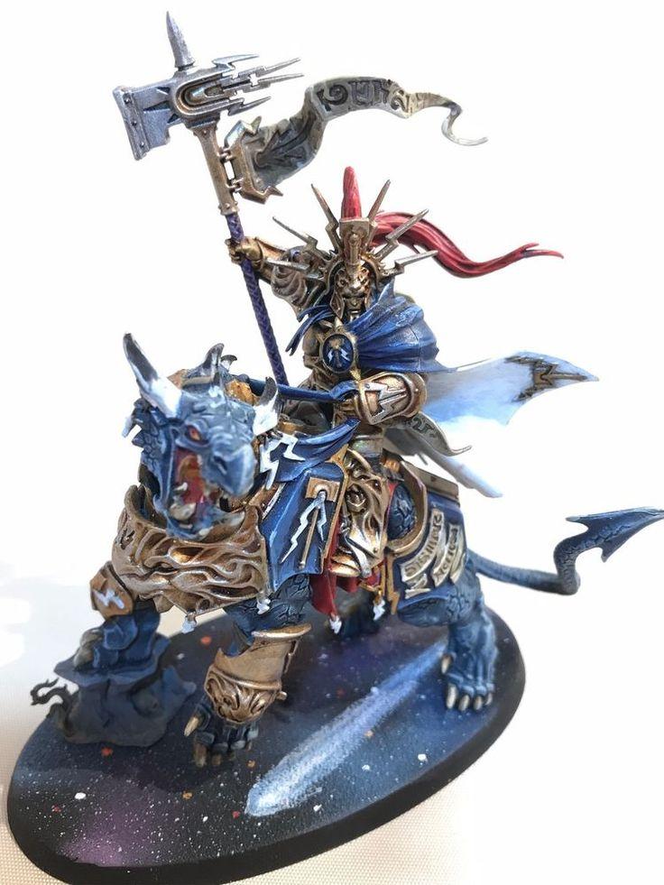 Warhammer Army Grand Alliance Order Stormcast Eternals Vendus Hammerhead Painted