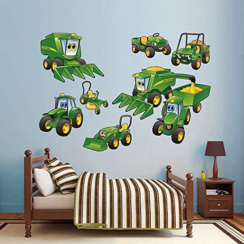 Fresh John Deere Johnny Tractor Farming Collection Real Big Fathead Wall Decals Assorted on a u