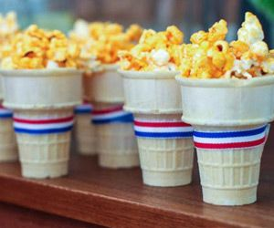 CHEER ON TEAM USA with one of these festive snacks perfect for your next Olympic viewing party. From swimming to shot put, root for our home team with this simple and quick refreshment to hold you ove…