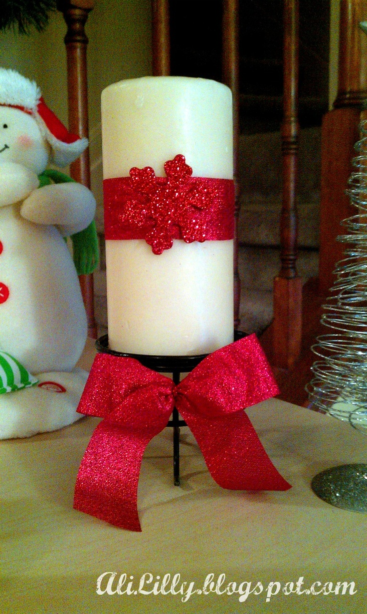 Christmas candles wonderful christmas candle decoration ideas - Candle Revamp