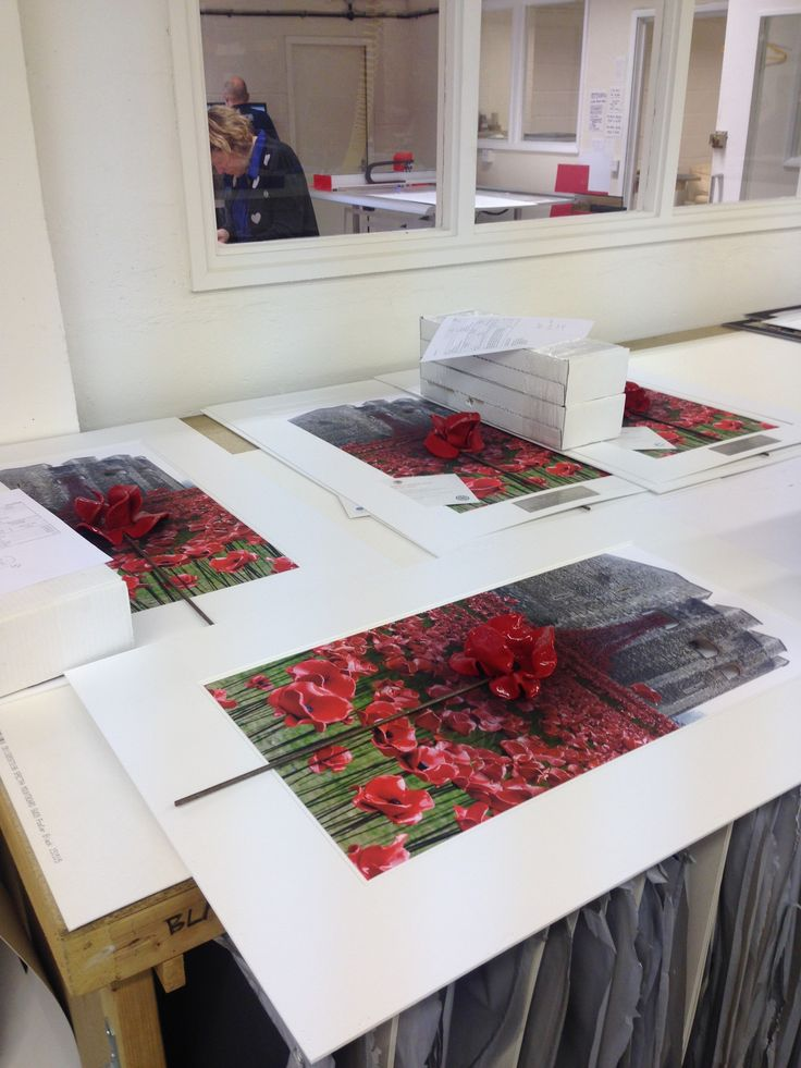 our bespoke poppy framing service is a great way to capture and preserve a monumental piece
