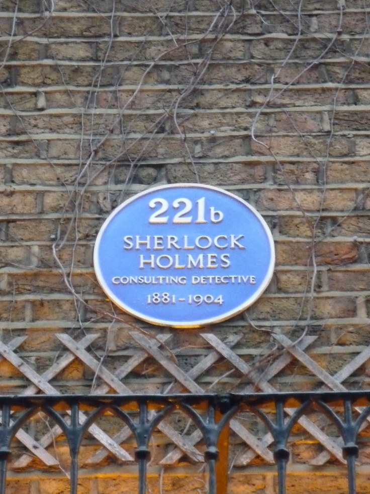 I WILL go here some day! 221b Baker Street  @Brighton Sloan this is what I was telling you about!