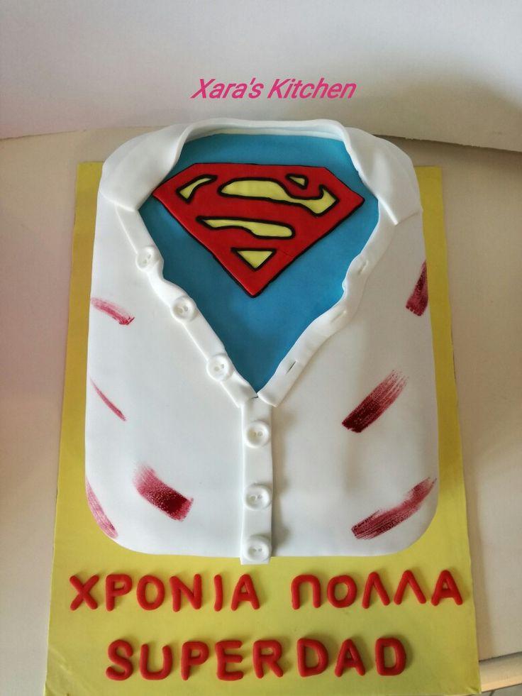 Superdad cake Xara's Kitchen