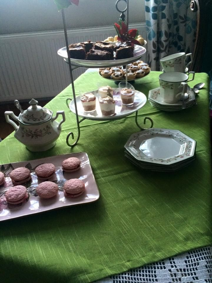 Sweet Afternoon Tea @ The Cottage for Christmas meeting with friends.