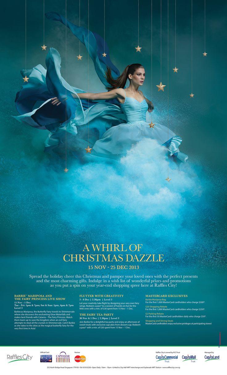 Raffles City Christmas Campaign 2013 on Behance