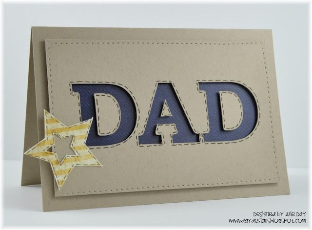 Dad's Day card by J.Day Designs