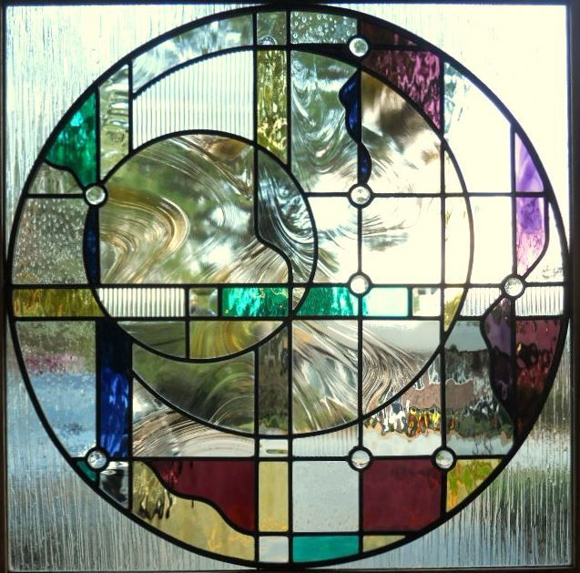 513 best stained glass geometric images on pinterest for Window glass design 5 serial number