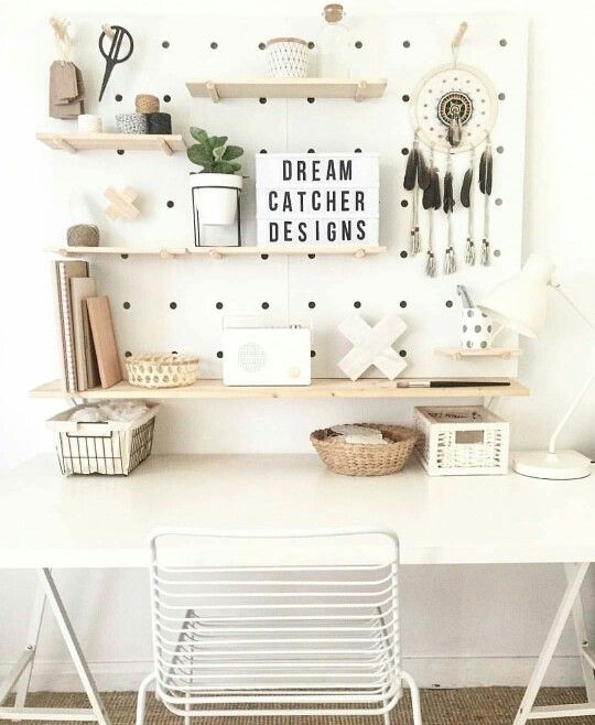 Study/beauty room decor