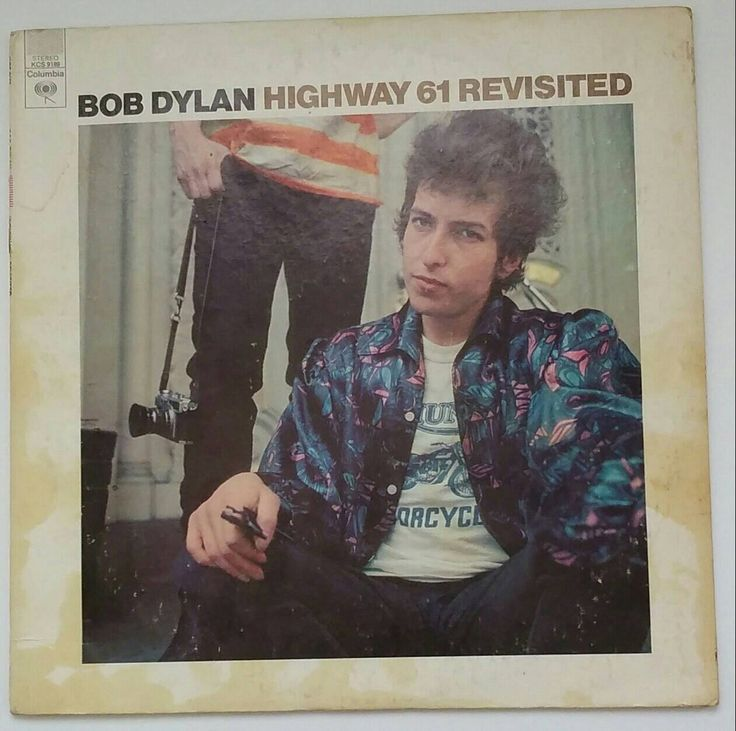 BOB DYLAN - Highway 61 Revisited, 1975 stereo long-playing vinyl record album reissue, KCS 9189 by BuyVintageRecords on Etsy