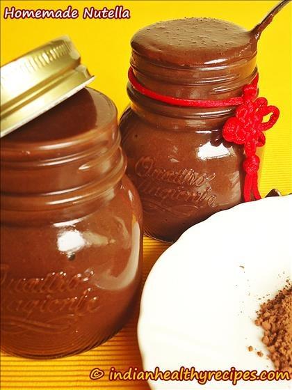 Chocolate Almond Homemade Nutella  Recipe