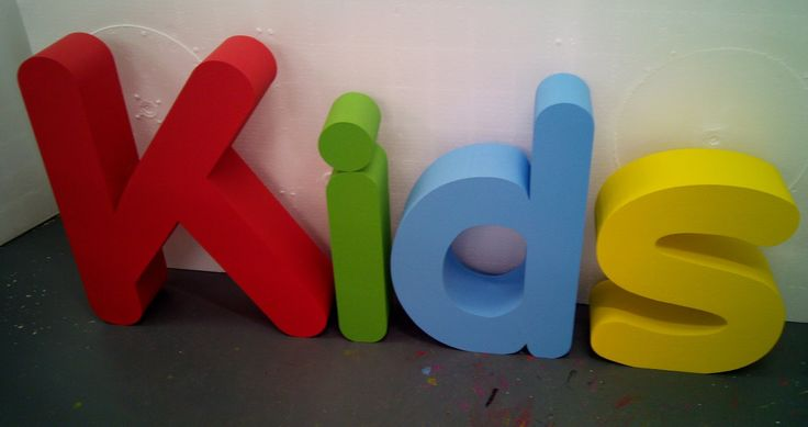 bright painted polystyrene letters large polystyrene letters pinterest galleries and letters