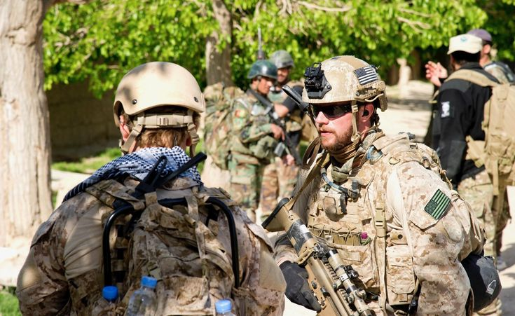 Navy SEAL LCDR. Daniel Crenshaw while deployed in Afghanistan. After 10 years in the Teams he left service with two Bronze Stars (one with Valor) the Purple Heart and the Navy Commendation Medal with Valor. [21001288]