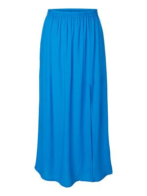 LOOSE ANKLE MAXI SKIRT, Brilliant Blue