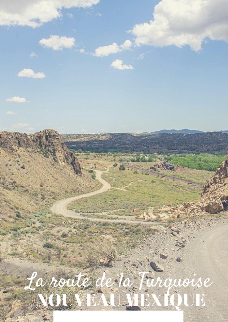 Entre Albuquerque et Santa Fe, la route de la turquoise sillonne dans des décors du sud-ouest américain... Encore une partie de road trip au Nouveau Mexique peu connue ! #roadtrip