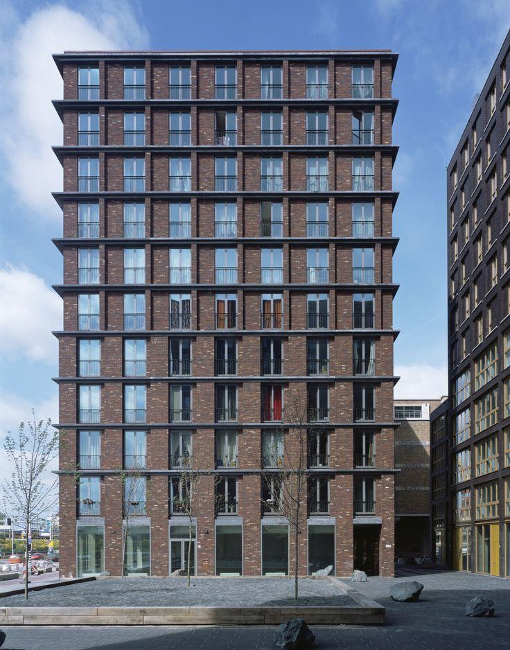 De Loodsen residential towers Amsterdam 2006_Office Winhov