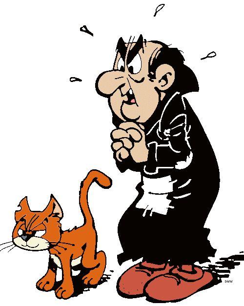 Gargamel & his catty