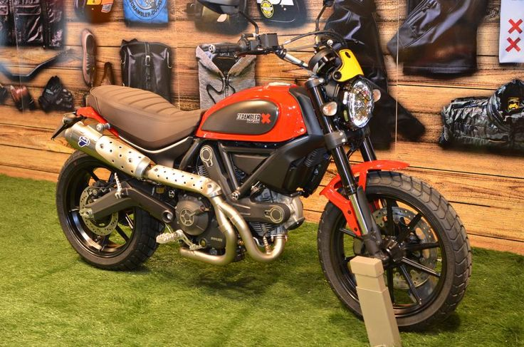 Ducati Scrambler Tank Decals