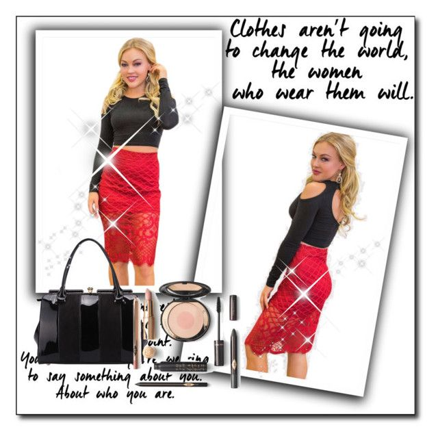 Sexy Scarlet by hotmazing on Polyvore featuring MKF Collection and behotmazing