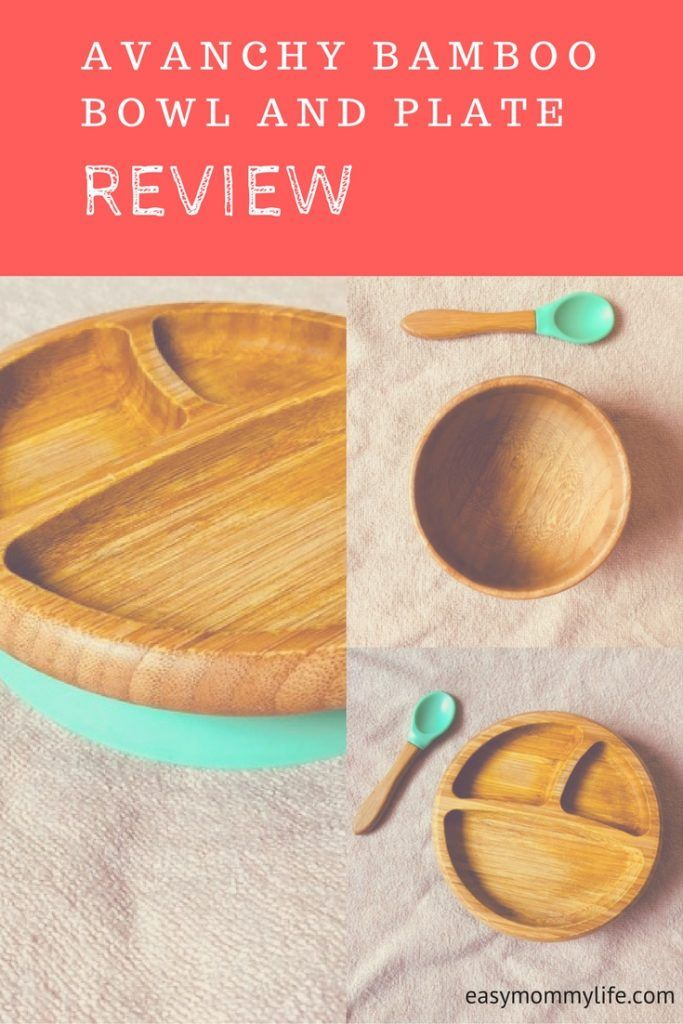 Avanchy Bamboo Stay Put Suction Bowl And Divided Plate Review