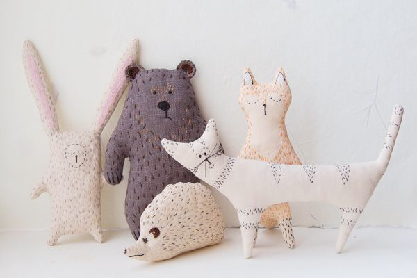 Because we have a soft spot for Woodland animals; Handmade Profiles: Kate Akatombo of Woodland Tales
