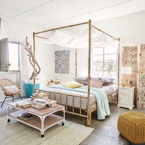 les 25 meilleures id es de la cat gorie lits baldaquin sur pinterest chambres coucher. Black Bedroom Furniture Sets. Home Design Ideas