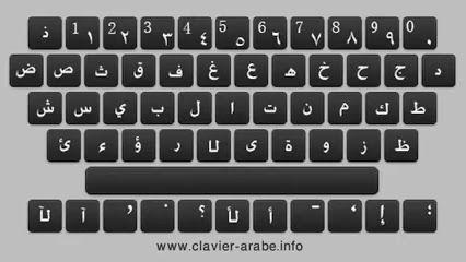 Ecrire en lettres arabes en ligne avec ce http://www.clavier-arabe.info clavier arabe virtuel. Maintenant vous pouvez écrire l'arabe avec votre souris;lettres arabes, clavier arabe virtuel, écrire l'arabe, clavier arabe, clavier arab, arab, clavier