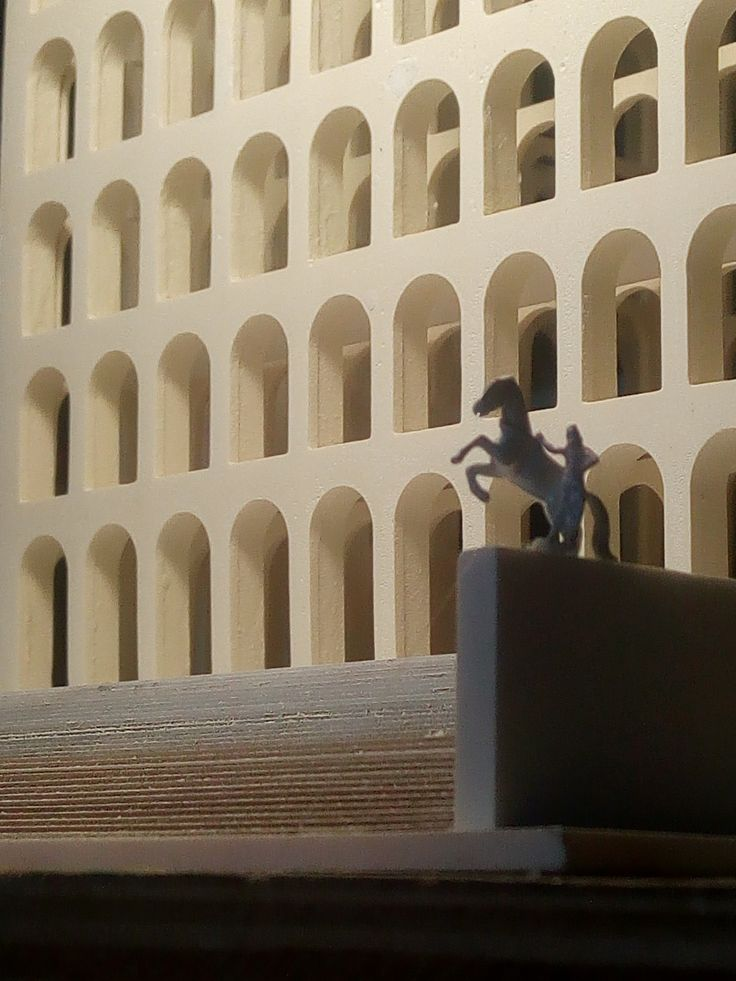 Modello scala 1:300 - info e shopping: hist.arch.models@gmail.com #HistoricalArchitecturalModels #PalazzodellaCiviltà #eur #roma #fendi