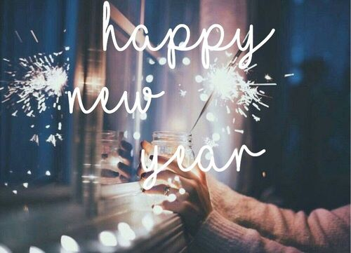 YES NEW YEAR!!! I'M SO DONE, OUT WITH OLD AND IN WITH THE NEW