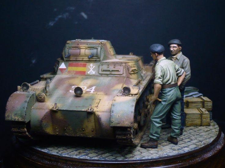unosetentaydos - Panzer I-B Guerra Civil - VEHICULOS TERRESTRES (Todas las escalas) PF