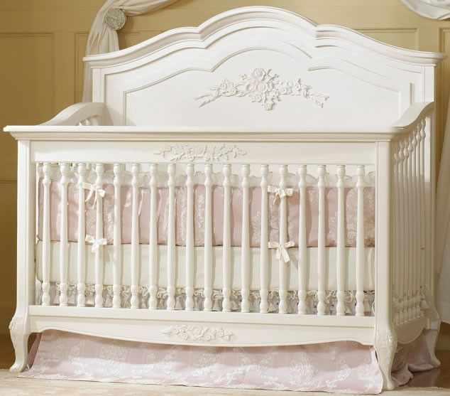 Dolce Babi Angelina Convertible Crib In French Vanilla